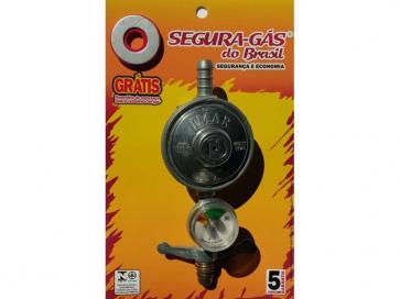 Regulador de gás 1kg manômetro